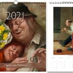 Jaarkalender 2021 Marius van Dokkum